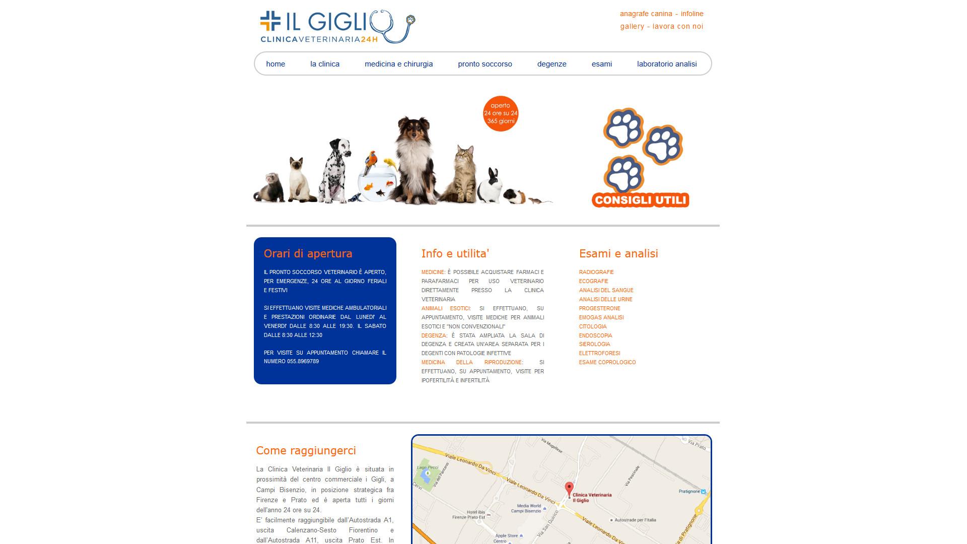 Cani, Gatti, Pappagalli, Conigli, Criceti e testo