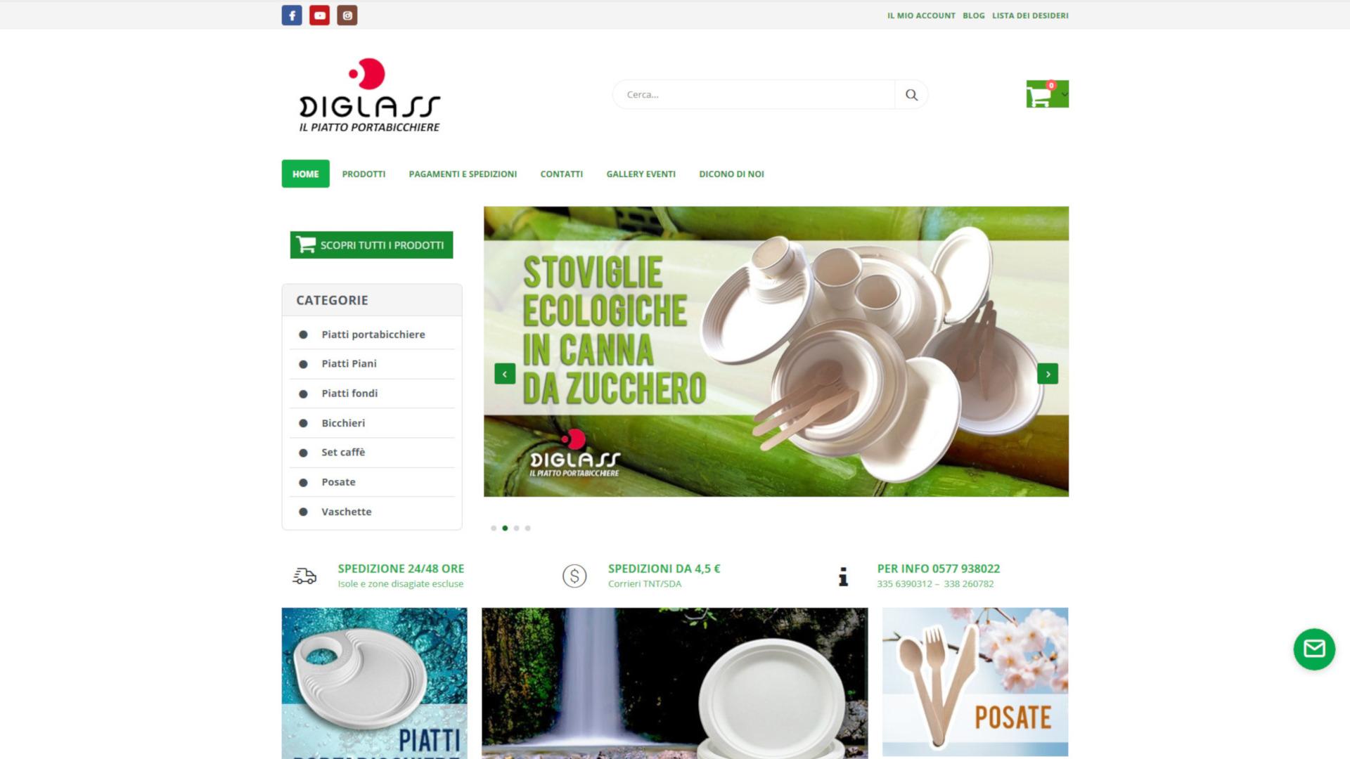 Piatti e Bicchieri Biodegradabili